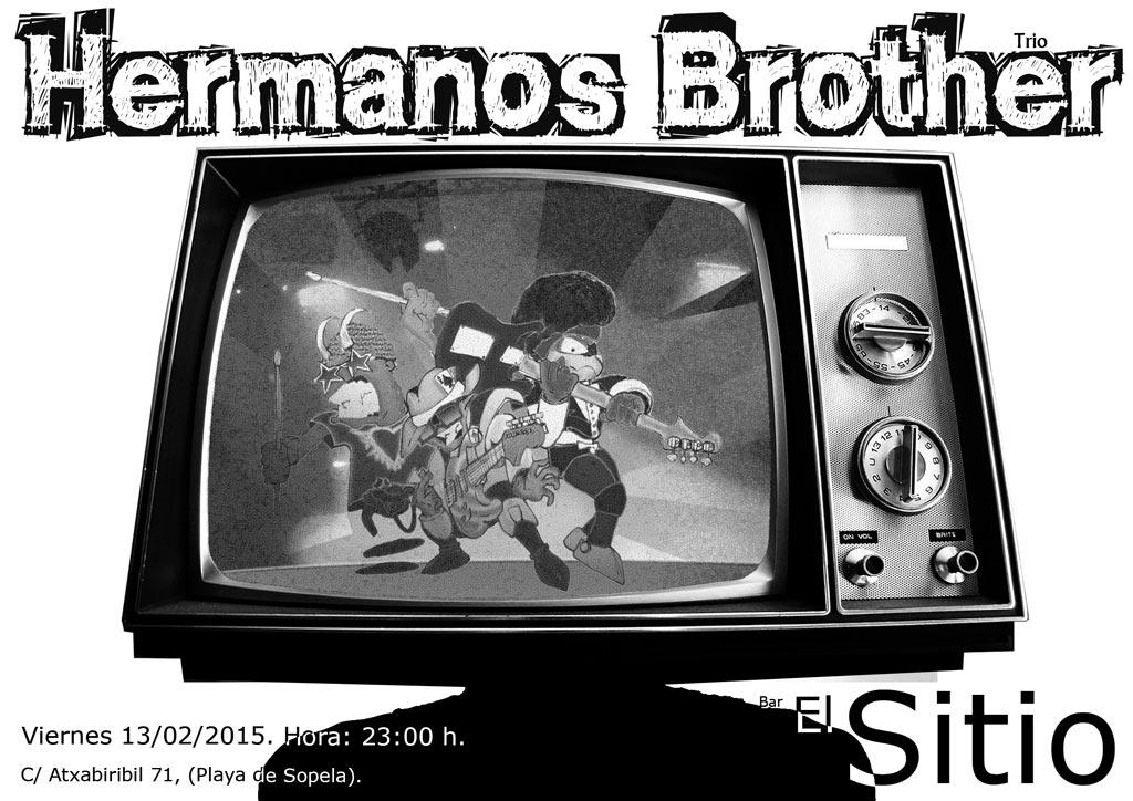 Hermanos brother trio A3 step 4