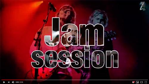 jam session screensaver