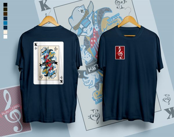 King of SOLFAS, play your card, dark blue